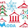 Royalty-Free Stock Vector Image: Coat hanger - sale symbol