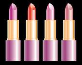 Lipsticks — Stockvector