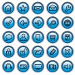 Internet buttons - Stock Vector