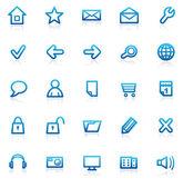 Set Internet icons — Stock Vector