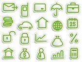 Financial symbols — Stock Vector