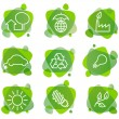 Royalty-Free Stock Vector Image: Environment protection icons