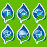 Houseware icons — Stock Vector
