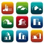 House icon collection — Stock Vector