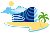 Resort — Stock Vector