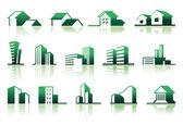 Real estate symbols — Stock Vector