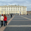 Palace square,  St. Petersburg - Stock Photo
