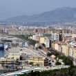 Aerial view of Malaga — Stock Photo