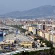 Aerial view of Malaga — Stock Photo