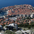 Panoramic View of Dubrovnik City, Croatia — Stok Fotoğraf #9237637