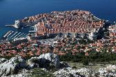 Panoramisch uitzicht stad dubrovnik, kroatië — Stockfoto