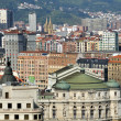 Aerial view of Bilbao, Spain — Stock Photo