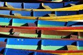 старые деревянные лодки — Стоковое фото