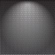 Metal template background — Stock Vector