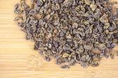 Zielonej herbaty suszonych liści — Zdjęcie stockowe