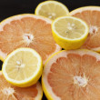 Fresh citrus fruits — Foto de Stock