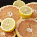 Fresh citrus fruits — Stock Photo #9350906