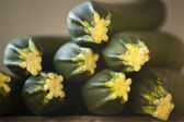 Fresh courgettes — Foto Stock