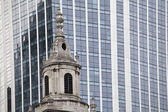 Architecture contrasts — Stock Photo
