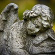 Cemetery sculpture — Stock Photo