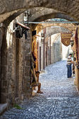 Rhodes in a morning — Stock Photo
