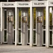Telephones in Romania — Stock Photo