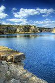 Nature photo of lake — Stock Photo