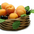Basket of Apricots — Stock Photo #10087831