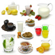 Beverage Sampler — Stockfoto