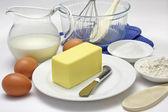 Cake Making — Stock Photo