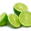 Stock Photo: Lime Halves