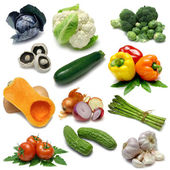 Vegetable Sampler One — Stockfoto
