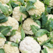 Stock Photo: Cauliflower on display