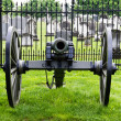 Civil war era cannon — Stock Photo