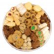 Homemade Cookie tray isolated — Stock Photo #9393240