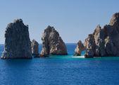 Rock formations including El Arco — Stock Photo