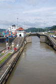 Gates of Pedro Miguel Locks — Stock Photo