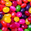 Jelly bean background closeup — Stock Photo #9802136
