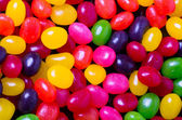 Jelly bean background closeup — Stock Photo