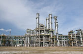 Chemical plant in summer day — Stock Photo