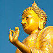 Stock Photo: Big Buddha statue stand