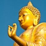 Big Buddha statue stand — Stock Photo #9325445