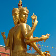 Brahma statue in Thailand — Photo