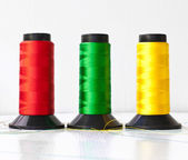 Multicolored of sewing — Stock Photo