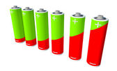 Battery recycle — Stock Photo