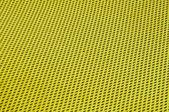 Yellow polyester fabric — Stock Photo