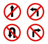 Red circle traffic sign — Stock Photo