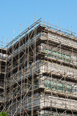 Big construction building — Stock Photo