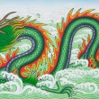 Stock Photo: Chinese dragon art paint