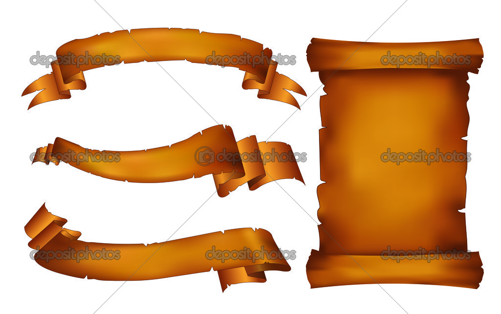 Old banners and scroll — Stock Vector © milannikolic #9223536